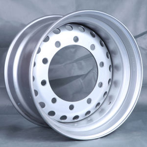 Tube Steel Wheel, Truck Rim (8.5-20, 8.5-24, 6.50-16) pictures & photos