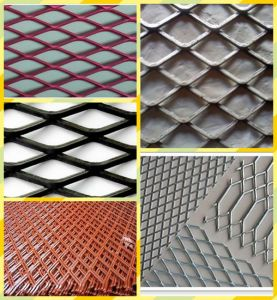 High Carbon Expanded Metal Mesh pictures & photos