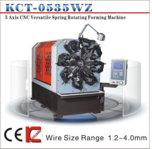 5 Axis 1.2-4.0mm CNC Wire Bending Machine with Wire Rotation pictures & photos