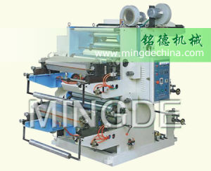Ruian Mingde Flexo Printing Machine with Two Color pictures & photos