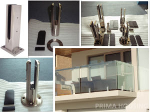 Frameless Glass Balustrade with Bolt Free Design Spigots pictures & photos