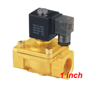 Shako 1′′ Two Position Two Way PU220-08A Direct Act Valves China Manufacturer Solenoid Valves PU220A Series