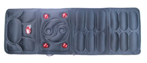 Electric Infrared Heat Full Body Shiatsu Vibration Massage Cushion pictures & photos