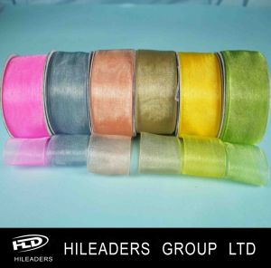 Manufacturer Wholesale Nylon Sheer Organza Ribbon