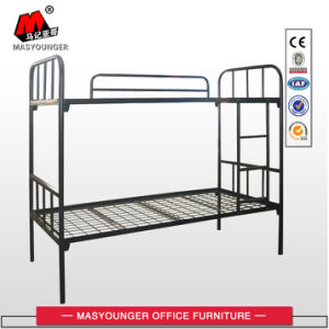 Student Worker Use Cheap Metal Bunk Bed pictures & photos