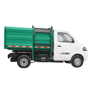 Electric Automatic Loading & Dumping Garbage Truck pictures & photos