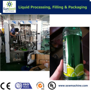 Labeling Machinery for Different Shape Bottles pictures & photos