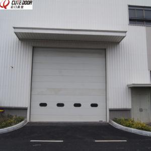 Safely Automatic Sectional Industry Garage Door/ Industrial Overhead Door pictures & photos