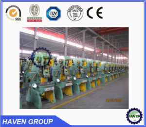 J23 series open type inclinable power press machine with punching pictures & photos