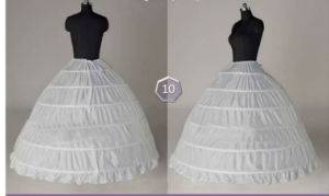 Hot Sale Underskirt Wedding Petticoat P-002 pictures & photos