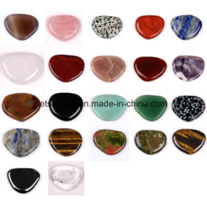 Semi Precious Stone Gemstone Massage Worry Thumb Stone (ESB02007) pictures & photos