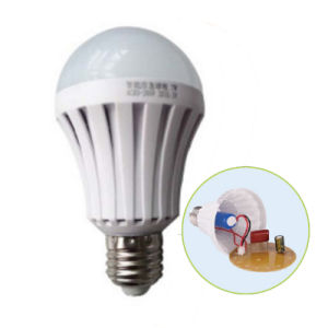E27 5W-12W Rechargeable Emergency LED Bulb with Lithium Battery pictures & photos