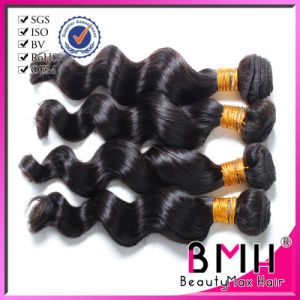 Loose Wave Indian Virgin Hair with Thick Bottom Natural Color (Yuki066)