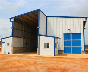 Portal Frame Prefabricated Light Steel Structure Workshop Inventory Center (KXD-210) pictures & photos