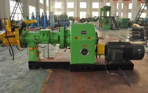 Xjd-250 Pin Barrel Cold Feeding Rubber Extruder Machine pictures & photos