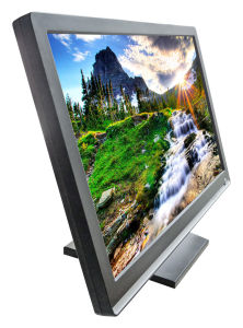 22 Inch LCD Touch Screen Monitor VGA Monitor (2218M) pictures & photos