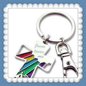 New Design PVC Cute Bear Key Chain pictures & photos