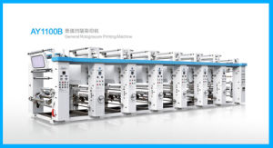 Plastic Film Rotogravure Printing Machine (Web Width 1100mm) (AY1100B) pictures & photos