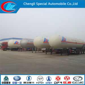 China Made LPG Semi Trailer, Hot Sale Fuel Tank Semi Trailer, 3 Axles LPG Gas Truck Semi Trailer pictures & photos
