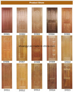 Solid Core Soundproof Hotel Wooden Interior Door pictures & photos
