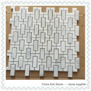Bianco Carrara Marble Mosaic (Z type) pictures & photos