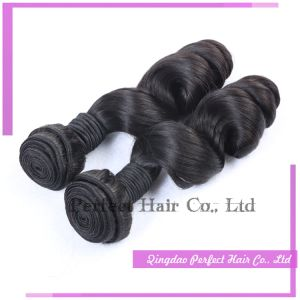 European Hair Wefts in Stock, Different Types of Hair Extensions pictures & photos