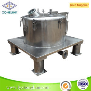 PS800 High Efficient Stainless Steel Flat Filter Centrifuge pictures & photos