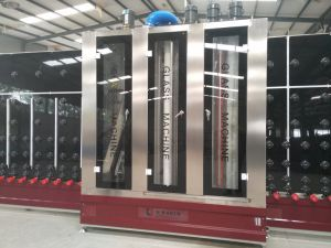 Vertical Glass Cleaning Machine with Drying Machine