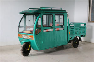 Safety Electric Passenger Tricycle for India Market