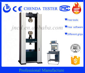 Wdw-300 Computer Controll Electronic Universal Testing Machine Usage Tensile, Compresssion, Impact Testing pictures & photos