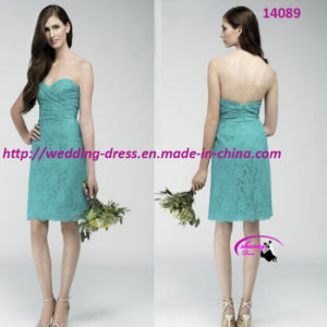 New Sexy Pretty Evening Bridesmaids Bride with Lace up pictures & photos