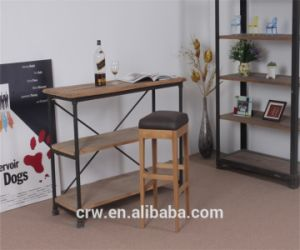 OA-4092 Comfortable Solid Oak Bar Stool pictures & photos
