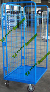 Supermarket Steel Roll Container Manufacturer pictures & photos