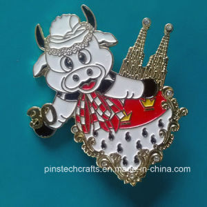 Custom Pin with Safety Pin, Paypal Accepted Pin936