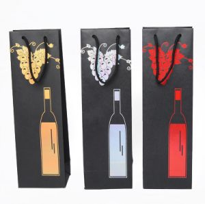 Fashion Wine Paper Promotional Bag for Shopping Packaging Gift Package pictures & photos