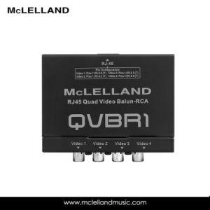 RJ45 Quad Video Balun RCA (QVBR1) pictures & photos