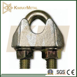 Steel Galvanized DIN1142 Wire Rope Clip in Yellow Galvanized pictures & photos