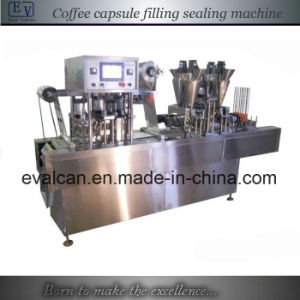 Automatic Filling Sealing Machine for Coffee Capsules pictures & photos