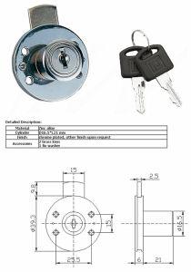 Rond Drawer Lock, Drawer Lock, Furniture Lockal-610s-40 pictures & photos