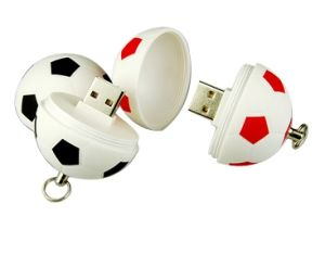 Football Shape USB Flash Drive, Distinctly Football USB Disk pictures & photos