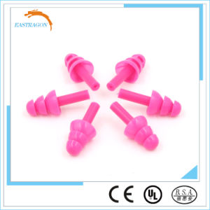 Non-Toxic Silicone Earplugs for Sleeping pictures & photos