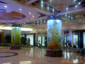Transparent Acrylic Cylinder Aquariums Exporter pictures & photos