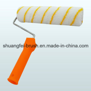 Yellow Stripe Paint Roller with Handle pictures & photos