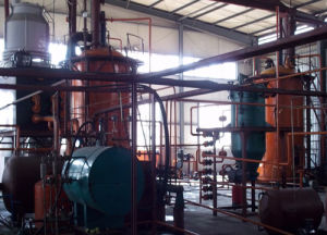 10ton Continuous Oil Distillation Plant Saving Fuel Energy pictures & photos