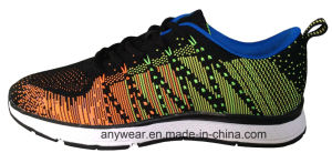 Women′s Ladies Gym Sports Running Shoes Flyknit Footwear (815-6621) pictures & photos