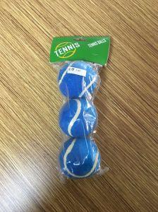 3PCS Plastic Bag Packing 80cm Bounce Colorful Pet Tennis Ball pictures & photos