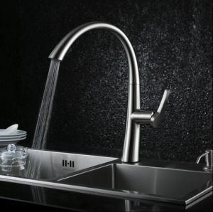 New Design Pull out Kitchen Sink Faucet pictures & photos