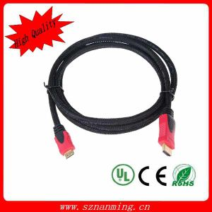 Gold Plated 2.0version Ethernet 1080P HDMI Cable pictures & photos