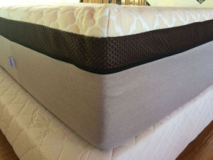 Environmenttal and Green Foam Mattress with Organic Latex pictures & photos