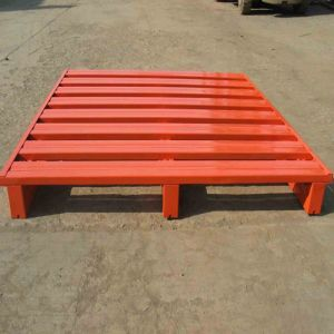 High Quality Three Legs Steel Pallets for Sale pictures & photos